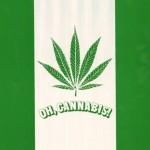 De Canadese vlag in het groen, met een cannabisblad in plaats van het esdoornblad.