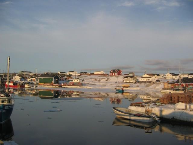 Het afgelegen vissersdorpje Port Au Choix in Newfoundland.