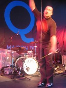 Optreden van een artiest uit Quebec.
