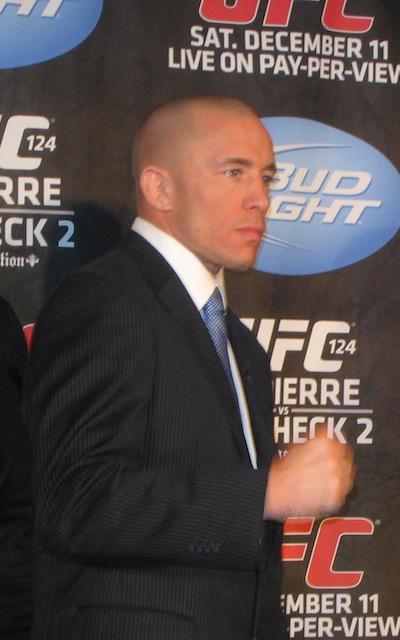 George Saint-Pierre, kortweg GSP.