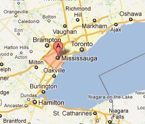 Mississauga Map-V