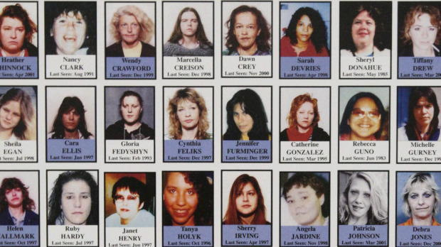Some of the women who went missing from Vancouver's Downtown Eastside.