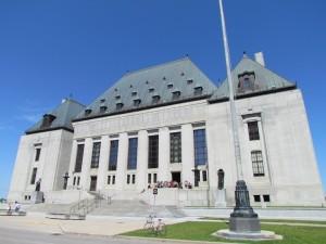 Het Canadese Hooggerechtshof in Ottawa.