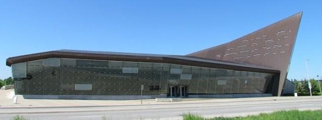 Het Canadese oorlogsmuseum in Ottawa.