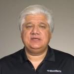 Mike Lazaridis, oprichter en mede-bestuursvoorzitter van BlackBerry-producent Research in Motion
