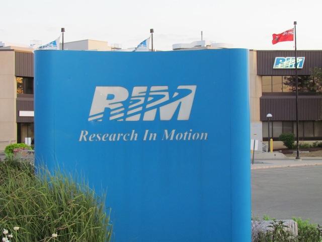 Hoofdkantoor van BlackBerry-maker Research in Motion in Waterloo, Ontario.