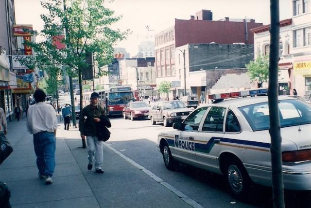 De Downtown Eastside van Vancouver is een van de ruigste drugsbuurten van Noord-Amerika.