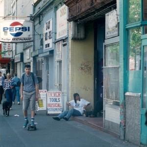 De ruige Downtown Eastside van Vancouver staat bekend als de armste stadsbuurt van Canada. Foto Astri Sivertsen
