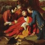 The Death of General Wolfe, door Benjamin West (1770)