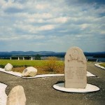Gedenksteen op de Canadese legerbasis Petawawa.