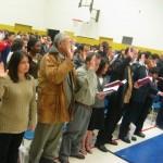 Een Canadese inburgeringsceremonie wordt gekenmerkt door diversiteit.