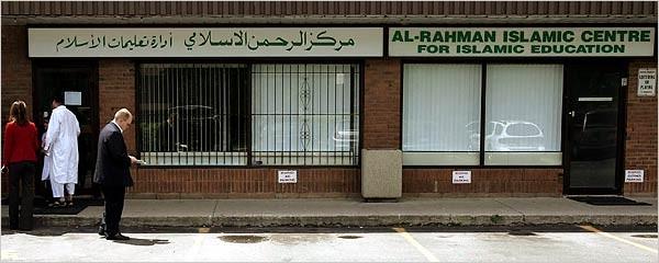 Het Al-Rahman centrum in Mississauga zou de voedingsbodem zijn geweest voor een groot terreurcomplot.