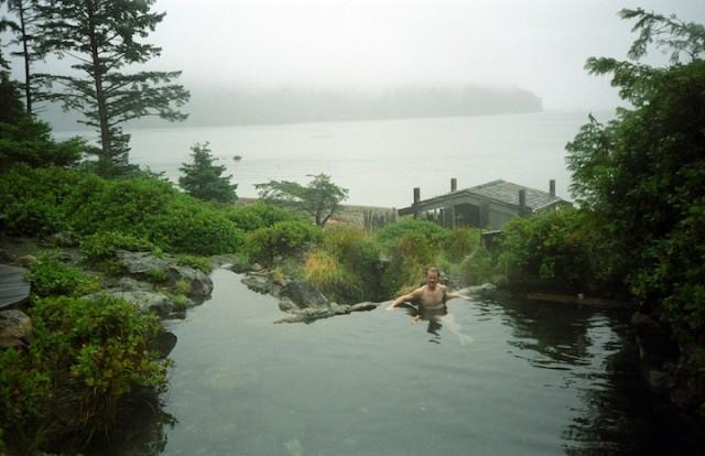 De heetwaterbronnen van Haida Gwaii.