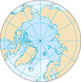 Canada maakt aanspraak op de geografische Noordpool.