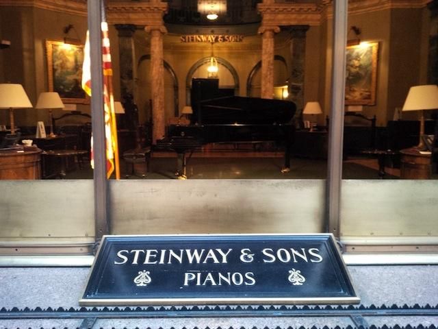 Steinway Hall in Midtown Manhattan.