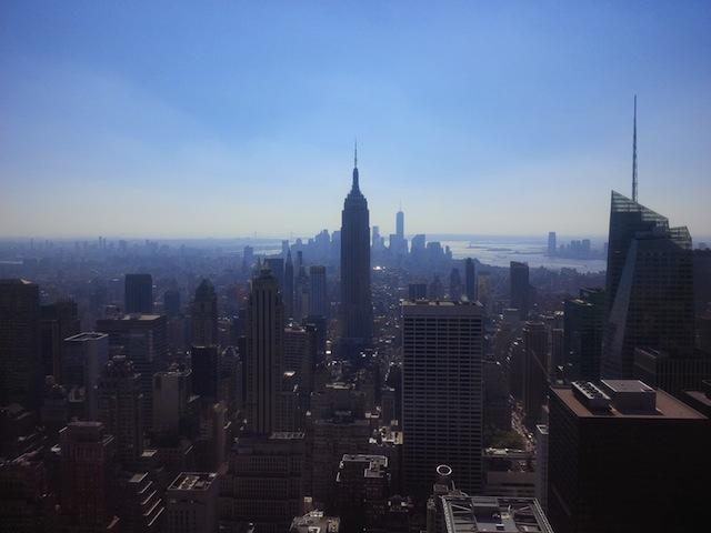 Het Empire State Building  in het hart van Manhattan.