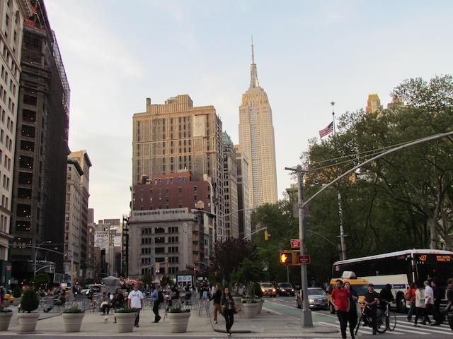De kantorenmarkt in Midtown Manhattan trekt aan.