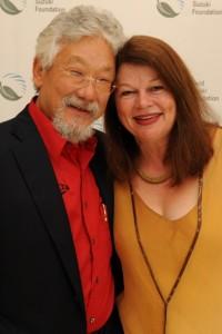 David Suzuki en Tara Cullis, de ouders van Severn