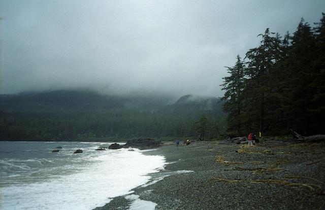 Kust van Haida Gwaii, de eilandengroep in British Columbia waar Severn Cullis-Suzuki woont met haar gezin.
