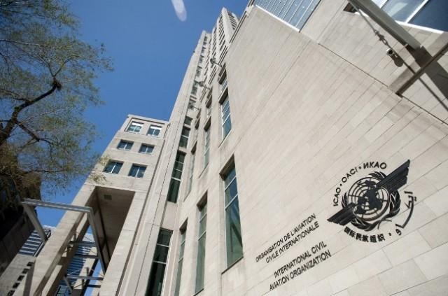 Hoofdkwartier van de Internationale Burgerluchtvaartorganisatie ICAO in Montreal.