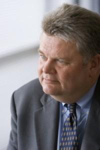 Burgemeester Greg Nickels van Seattle.