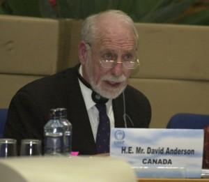 Canada's Environment Minister David Anderson