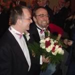 Michael Hendricks en René Leboeuf trouwden in 2004.
