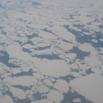 Ice floes in Nunavut. The Canadian Arctic is warming up.