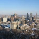 Het centrum van Montreal.
