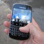 BlackBerry Bold toestel.