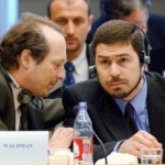 Maher Arar met Lorne Waldman, een van zijn advocaten.