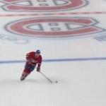 De ijshockeysterren van de NHL zijn terug op het ijs. Hier de Montreal Canadiens.