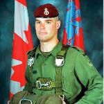 Met de klok mee: Sergeant Marc Leger, Private Richard Green, Corporal Ainsworth Dyer, en Private Nathan Smith zijn omgekomen door 'friendly fire' in Afghanistan. Foto's DND