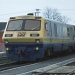 Trein van de Canadese spoorwegmaatschappij Via Rail. Er zijn weinig veiligheidsmaatregelen bij treinreizen in Canada.