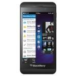 BlackBerry Z10 toestel.