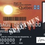 Health card van de provincie Quebec
