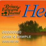 Health card van de provincie Prince Edward Island