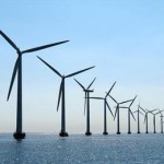 Windpark op zee
