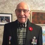 Oorlogsveteraan George Emmerson kwam na bijna 70 jaar opnieuw in contact met een man die hij hielp rond de bevrijding van Nederland.